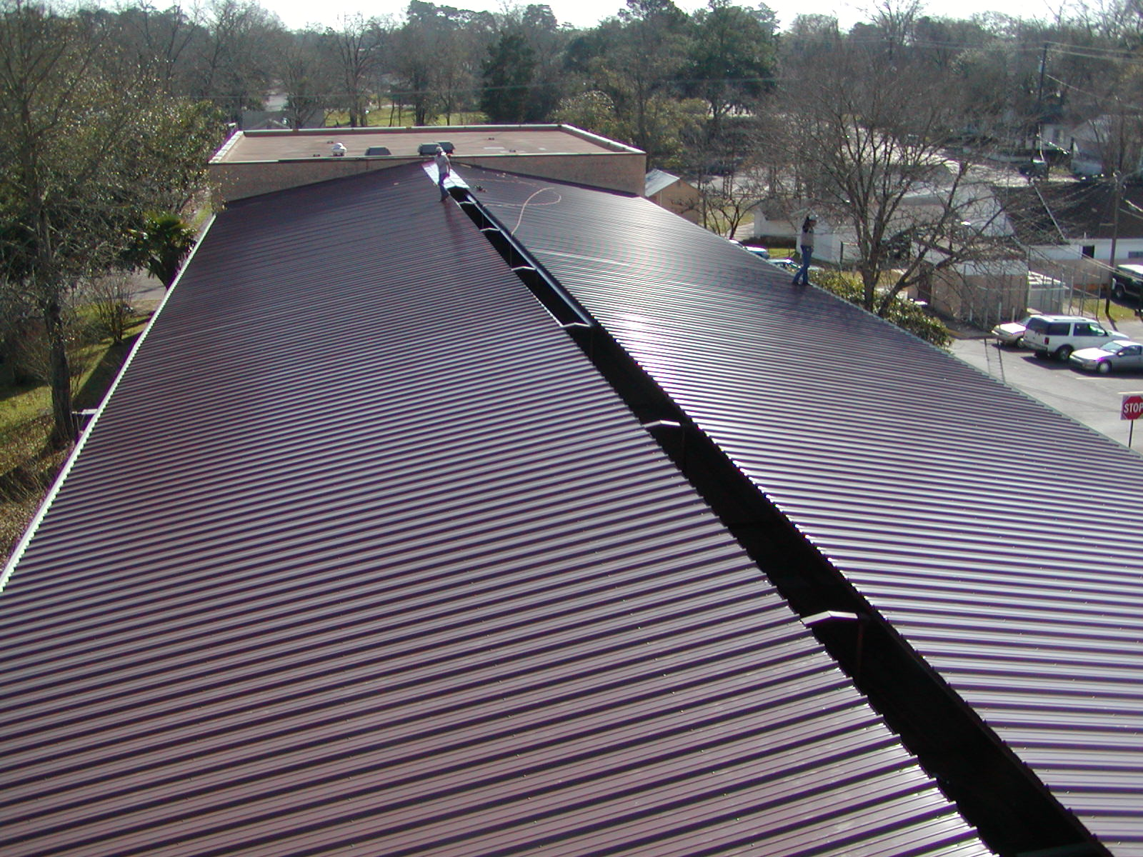 Security Metal Roofing